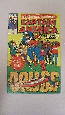 Captain America Goes To War Against Drugs one-shot 1991 written by Peter David