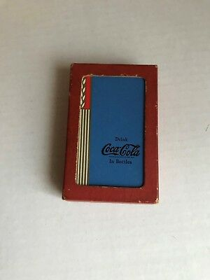 RARE! 1938 COCA-COLA Blue Wheat Design Playing Cards