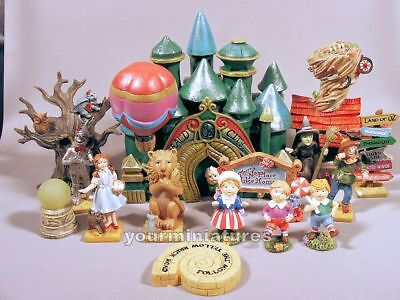 Wizard of Oz Fairy Garden Emerald Cities or 1 Complete Set GiftCraft Mini World