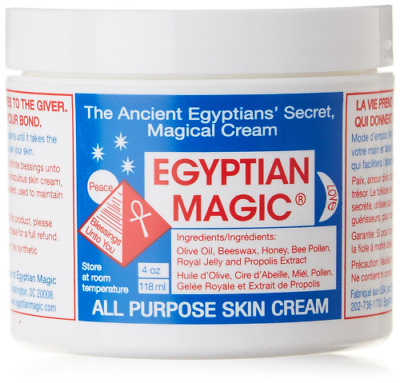 Egyptian Magic All Purpose Skin Cream (4oz, 118g) Naturel Crème Hydratante