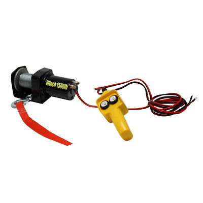 Pilot Automotive 12V Electric Winch, 1500 LBS. Capacity