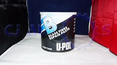 U-Pol B Sandable Glass Fibre Repair Paste Bridger Resin Kit 1.85L Tin Strong