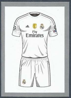 on sale 6fb60 47386 TOPPS CHAMPIONS LEAGUE-2015-16 #008-Real Madrid Home Kit