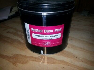 Vanson Van Son Rubber Base Plus ink.  5lb can VS503 Rubine Red FREE Shipping