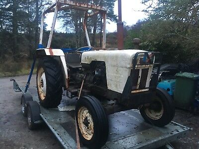 David brown 885 project spares or repairs barn find