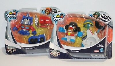 Mr Potato Head - Mixable Mashable Heroes - Transformer Rescue Bots
