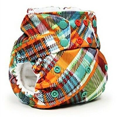 New! Rumparooz One Size Pocket Diaper Snap Closing - Quinn