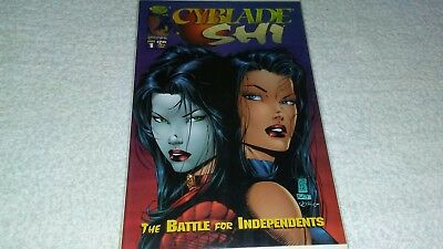 Cyblade / Shi The Battle for Independents #1 NM (1995 Image) 1st Witchblade