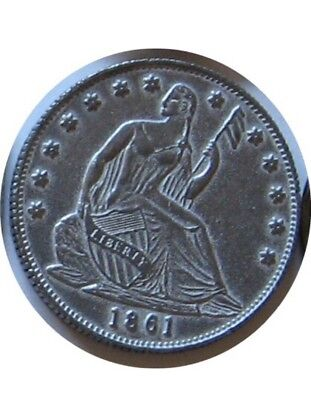 1861 Confederate Half Dollar Novelty