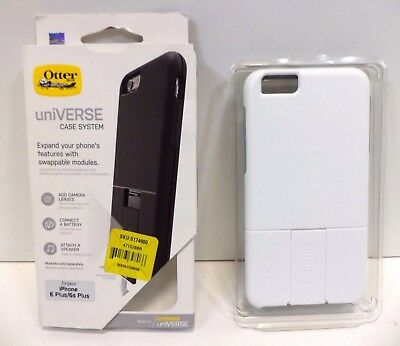 White Otterbox uniVERSE Hard Protective Case System for iPhone 6 Plus / 6s Plus