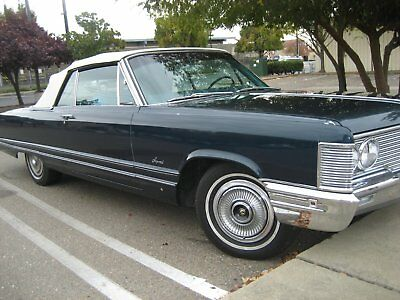 1968 Chrysler Imperial Blue 1968  chrysler  Imperial  Crown  CONVERTIBLE