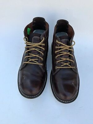 TIMBERLAND EARTHKEEPERS CITY Escape Moc Toe Brown Leather Rugged ... fe922d14513