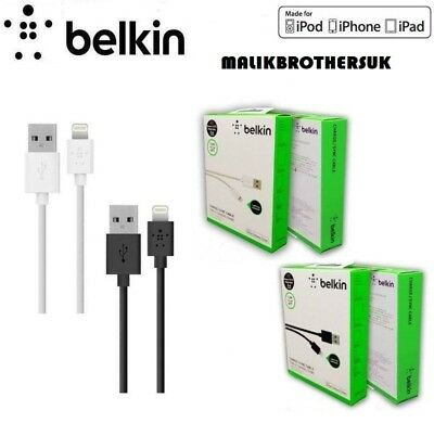 Belkin Lighting To Usb High Quality Data Cable 1.2M (4 Ft) Iphone 5 5S 6 6S 7