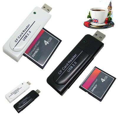 New Quality High Speed USB2.0 CF Card reader Compact Flash card reader UK Hot