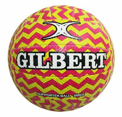 GREAT VALUE || Gilbert Glam Zig-Zag Netball (SIZE 5)