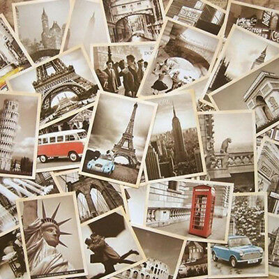 1Set/32pcs Vintage Travel Landscape Postcard Greeting Card Souvenir Gifts Cards