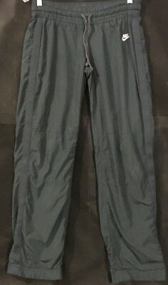 Nike Women's Lined Charcoal Grey Sweatpants Size Small(4-6) 30.5 inch inseam