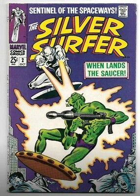 The Silver Surfer #2 (Oct 1968, Marvel)