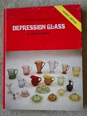 The Collector's Encyclopedia of Depression Glass 4th Edition full-color guide VG