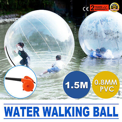 1.5m Water Walking Walker Ball Inflatable PVC Zorb Ball Family Fun Swimming