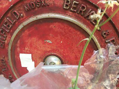 Antique Berkel Meat Slicer Very Rare & Collectable