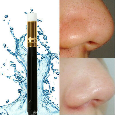 1PCS Blackhead Nose Cleaning Skin Care Remover Tool Wooden Washing Makeup Brush