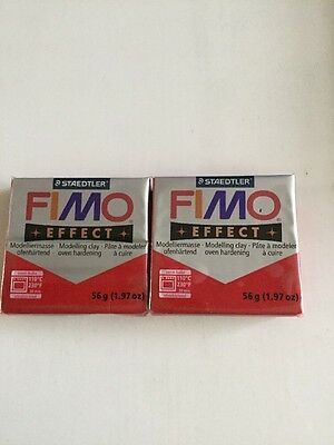 Fimo Effect X2 Red