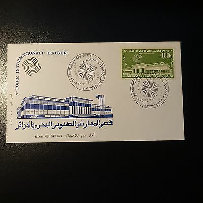 ALGERIA N°524 ON LETTER COVER 1st DAY FDC