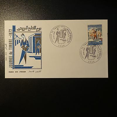 ALGERIA N°550 ON LETTER COVER 1st DAY FDC
