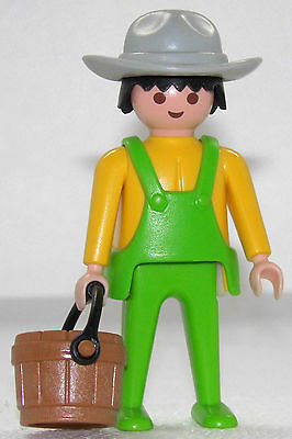 FARMER PLAYMOBIL zu FARMHAUS 3769 Cowboy Colorado Springs Farm Ranch SELTEN 742