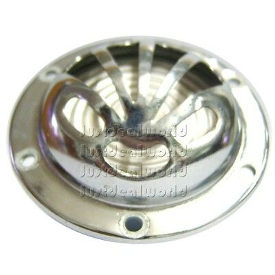 Flower Type Horn 12 Volts Chromed Finish Fits Vespa Vbb & Early Models