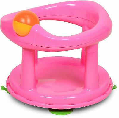 Safety 1st Swivel Seat for Baby Bathing Support - Pink (6 Months to 10kg)