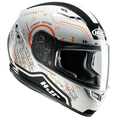 HJC CS-15 Safa Orange CS15 Full Face Motorcycle/Motorbike Helmet- Orange ZE