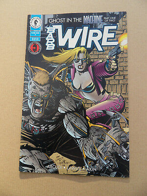 Barb Wire 4 .  Dark Horse 1994 . VF - minus