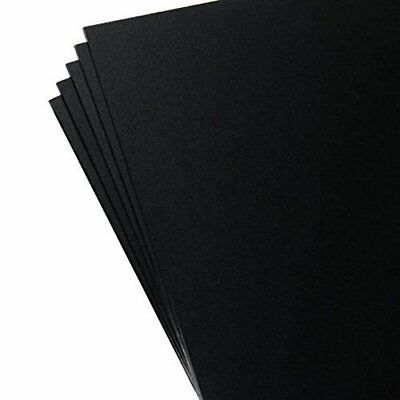 "5 Pack Kydex Plastic Sheets Black 8"" X 12"" X .080"" New"
