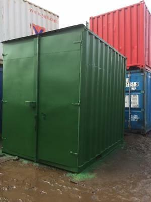 """10'x8'x9'6"""" ex Shipping Container with lock box £875"""
