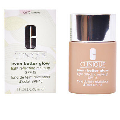 EVEN BETTER GLOW light reflecting makeup SPF15 #vanilla 30ml
