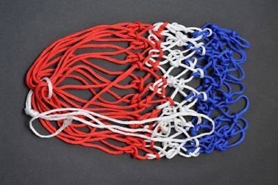 Netball Net High Quality 3mm Twine Made In Britian. blue White And Red By Avonst