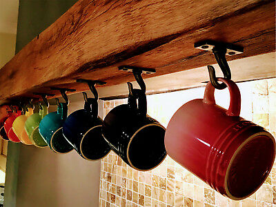 Cup Hooks Large and Small Cast Iron Ellie Vintage sold in singles & multiples