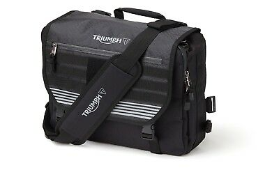 GENUINE Triumph Motorcycles T18 Messenger Bag Laptop Luggage NEW 2018