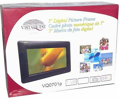 Vistaquest Digital Picture Frame 7 Inch Vq0701P
