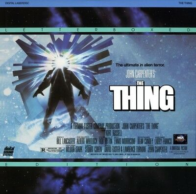 THING (THE) WS CC NTSC LASERDISC Kurt Russell, Wilford Brimley, Keith David