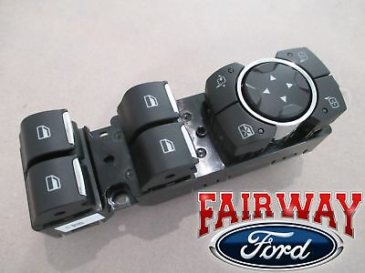 15 thru 19 F-150 OEM Ford Power Window Switch for Power Fold Trailer Tow Mirrors