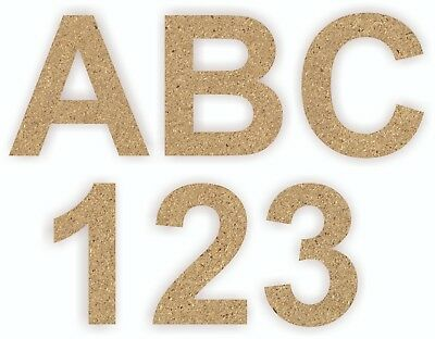 F337 Mdf Wooden Alphabet A-Z Letters Numbers Symbols Laser Cut Craft Blanks