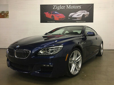 2015 BMW 6-Series Base Coupe 2-Door 2015 BMW 640i Coupe M Sport,One owner,Clean Carfax