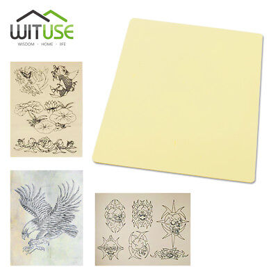 Professional Tattoo Practice Blank Sheet Fake Skin For Needle Ink Practicing