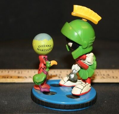 Marvin the Martian Figure 3 inch PVC INSTANT MARTIAN 1997 Applause USED