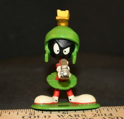 Marvin the Martian 3 inch PVC MARVIN w RAY GUN 1996 Applause USED