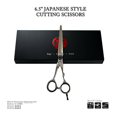 Professional Hair Scissors - Japanese Style Barber Scissors - Top Hitachi Steel