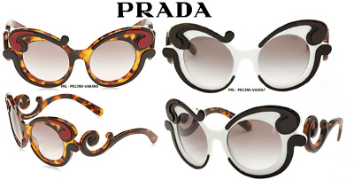 069d94b253 PRADA PR 23NS Minimal Baroque Fashion Sunglasses Size 52 100% Authentic    New